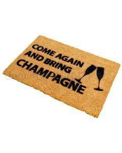 Entrance Door Mat 60x40cm Bring Champagne
