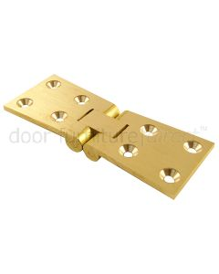Brass Counter Flap Hinges 1.1/2x4.1/2in (38x114mm)