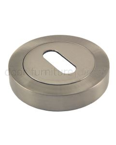 Satin Nickel key Escutcheon 50mm