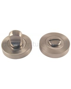 Satin Nickel Turn and Release 50mm
