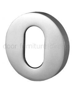 Aluminium Oval Covered Escutcheon SAA