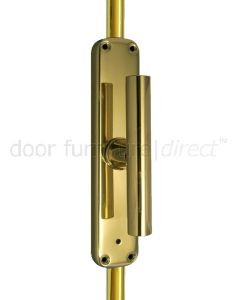 Brass T-Bar Handle Operated Espagnolette Bolt