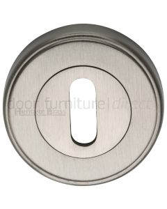 Satin Nickel Key Escutcheon 53mm
