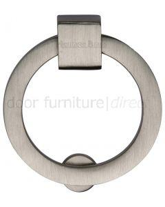 Heritage Satin Nickel Round Cabinet Pull 50mm