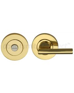 Polished Brass Easy Turn Bar and Emergency Release 53mm