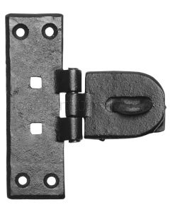Smooth Iron Hasp and Staple 4195