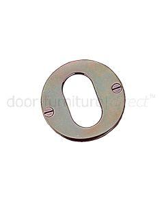Real Solid Bronze Oval Escutcheon 51mm