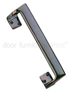 Real Bronze Cranked Pull Handle