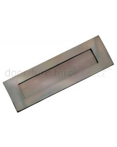 Real Bronze Letter Plate 406x127mm