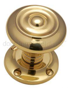 Polished Brass Aylesbury Mortice Door Knob Set 55mm