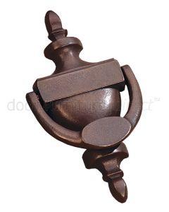 Rustic Bronze Adam Door Knocker