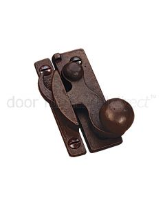 Rustic Bronze Sash Fastener Narrow