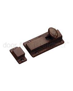 Rustic Bronze Door Bolt 76mm