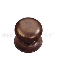 Rustic Bronze Bun Cupboard Knob