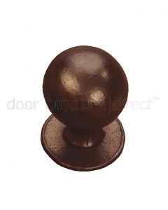 Rustic Bronze Ball Cupboard Knob