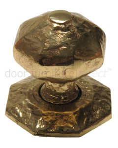 Antique Style Brass Centre Door Knob 70mm 3064