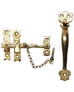 Antique Style Brass Thumb Latch 152mm 3613