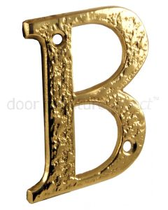 Antique Style Brass Letters A-Z 76mm 1979