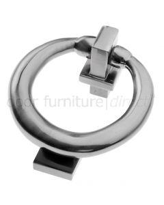 Pewter Finish Ring Door Knocker 114mm