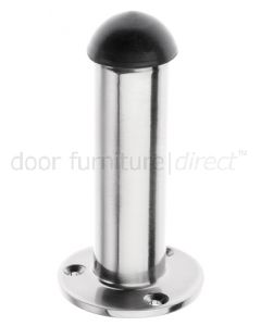Pewter Finish Cylinder Door Stop
