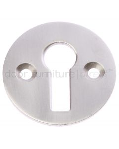 Satin Nickel Key Escutcheon 32mm