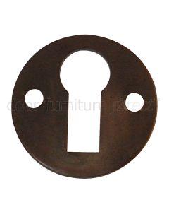 Imitation Bronze Open Escutcheon 32mm