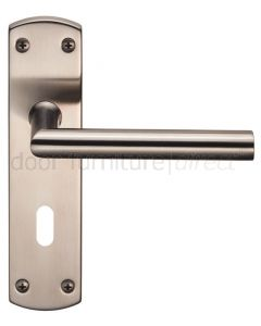 Steelworx Stainless Steel Mitred Lever Lock Set