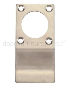Satin Stainless Steel Rim Cylinder Pull with Screw Holes