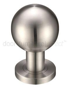 Satin Stainless Steel 55mm Ball Mortice Door Knobs