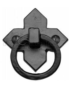 Black Iron Rustic Cabinet Drop Pull