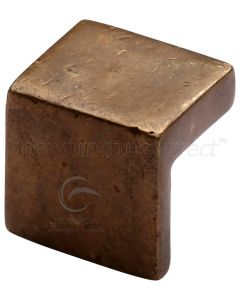 Solid Bronze Rustic Cabinet Knob and Pull 25mm