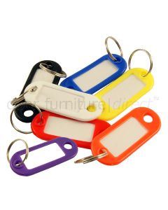 Key Tags Coloured