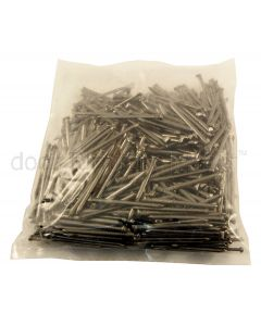 Bright Oval Brad Nails 500g Bag