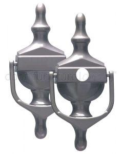 Fab&Fix Victorian Hardex Satin Urn Knocker 162x76mm