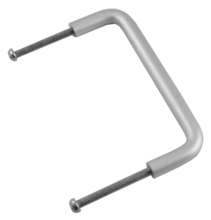Image of Aluminium Tubular Bolt Fix D Handle 4x3/8in