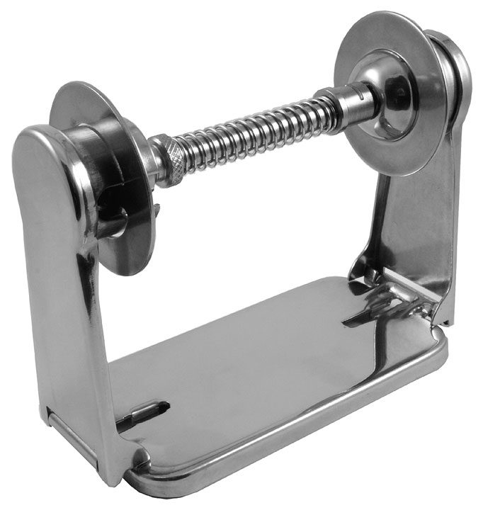 Satin Stainless Theft Resistant Toilet Paper Holder