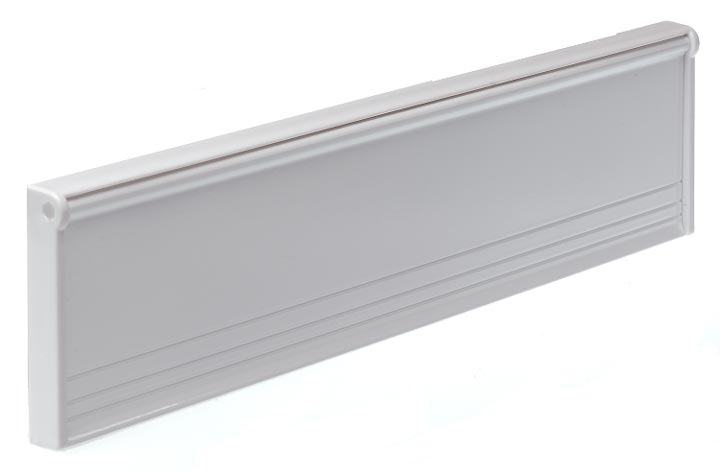 Letter Box or Door Tidy 292mm White