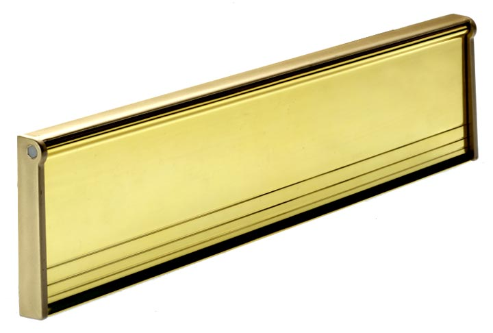 Letter Box or Tidy Door 292mm Gold