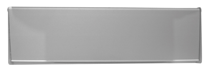 Image of Satin Anodised Interior Door Plate 10x3in (254x75mm)
