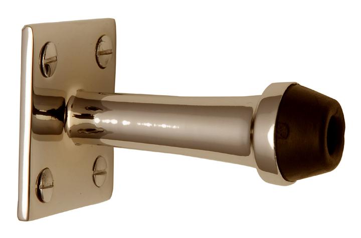 Heritage V1190 Brass Skirting Door Stop 64mm