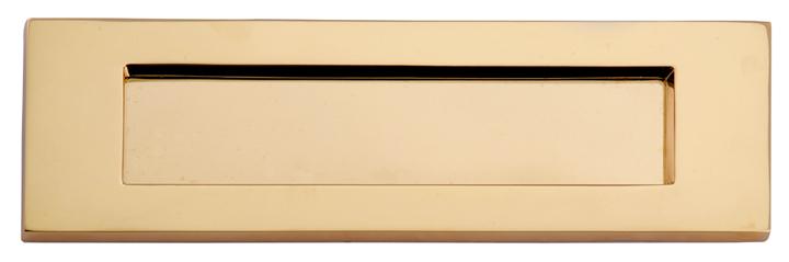 Heritage V850 Brass Victorian Front Door Letterbox 356x112mm