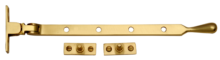 Image of Heritage V992 Brass Window Stay 254mm
