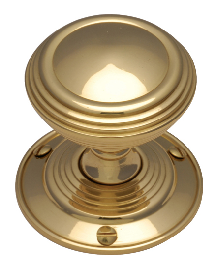Image of Heritage GOO986 Brass Goodrich Interior Door Knobs