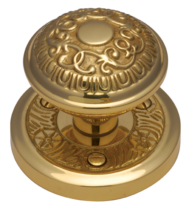 Image of Heritage AYD1324 Brass Aydon Interior Door Knobs