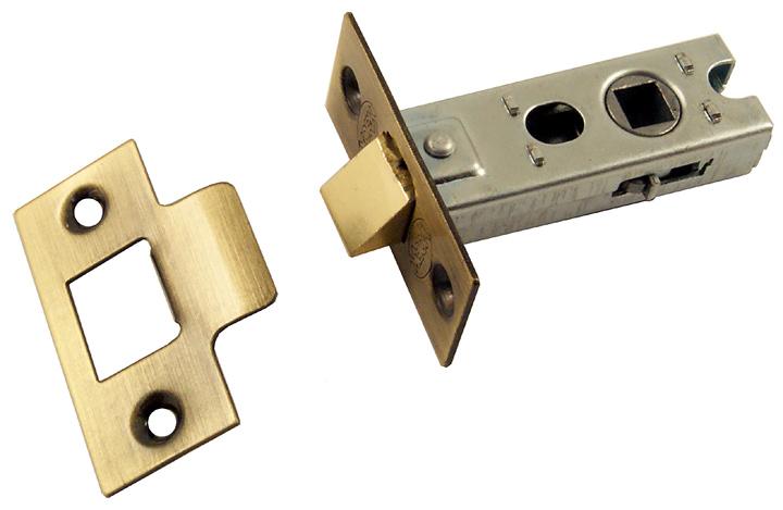 Image of Darkened Brass Tubular Latch