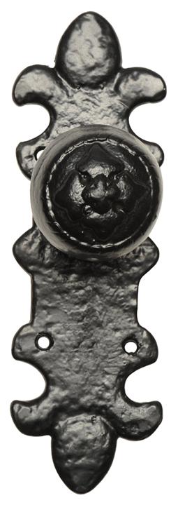 black antique ironwork rim door knobs 1550 at door furniture direct we