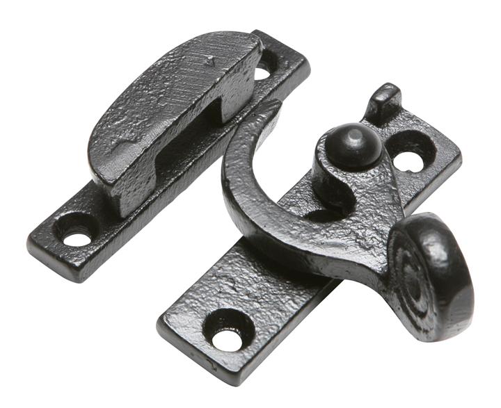 Black Antique Ironwork Window Handle Fastener 1460