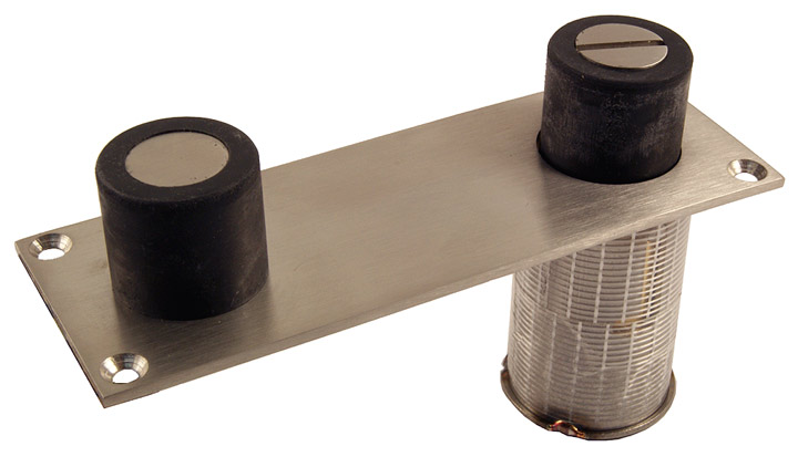 Image of 316 Stainless Steel Dual Door Stop and Holder with Lock Down