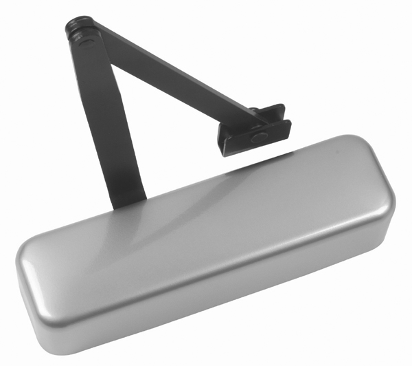 Image of Cam Action Door Closer Adjustable Strength 2-5 Silver