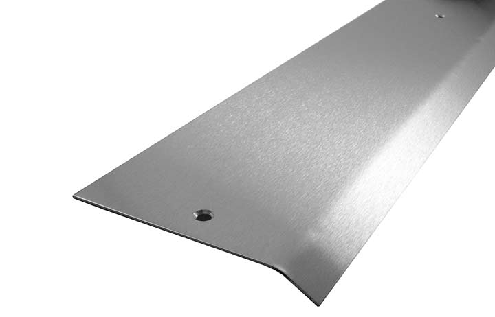 Stainless Steel Carpet Cover Strip 1 Side Bevel